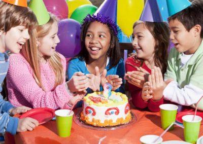 photo of kids theme party