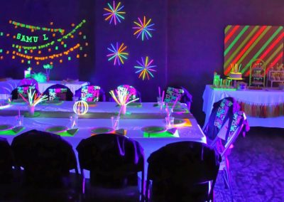 photo of teen theme party